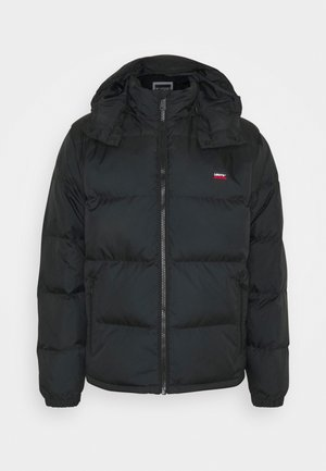 HOODED FILLMORE SHRT JKT - Down jacket - black