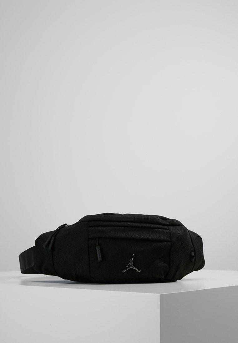 Jordan - ELE JACQUARD CROSSBODY - Saszetka nerka - black
