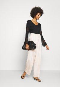 Desigual - AMELIA - Long sleeved top - black - 1