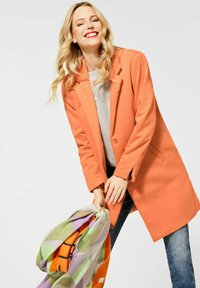 Street One - Short coat - orange - 2