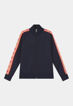 UNISEX - Sweater met rits - blue navy