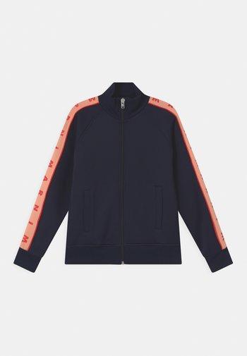 UNISEX - Zip-up sweatshirt - blue navy