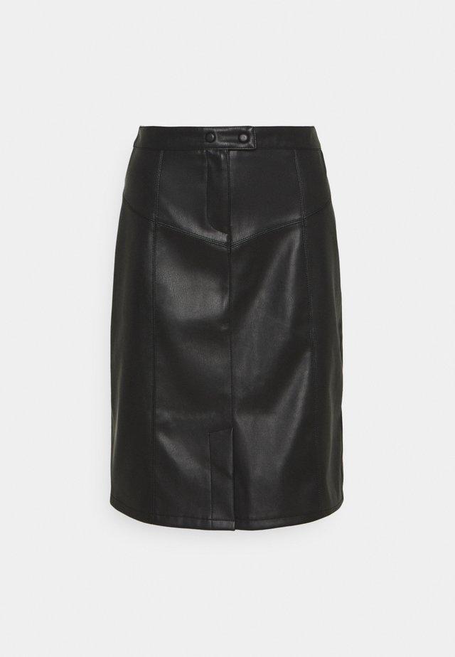 EPIKA - Falda de tubo - noir