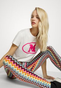 M Missoni - Leggings - Trousers - multicolor - 3