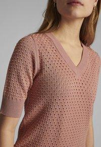 Nümph - Print T-shirt - ash rose - 2