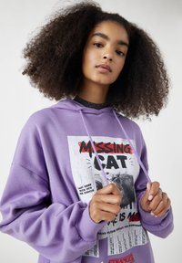 PULL&BEAR - Hoodie - purple - 4