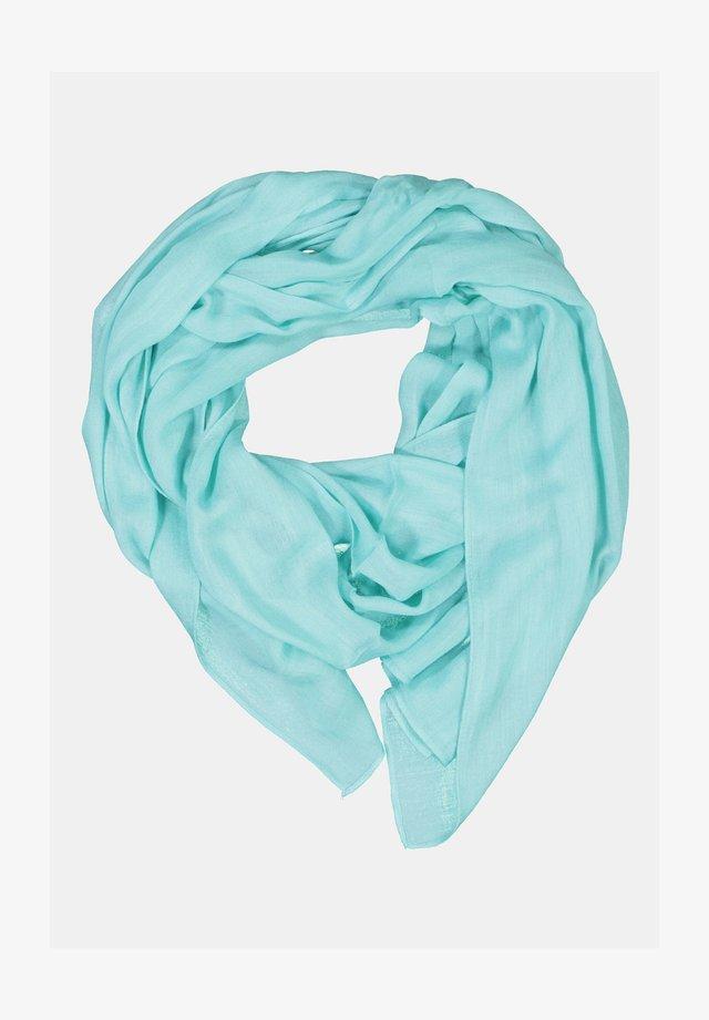 FRANSENKANTEN - Sjaal - turquoise