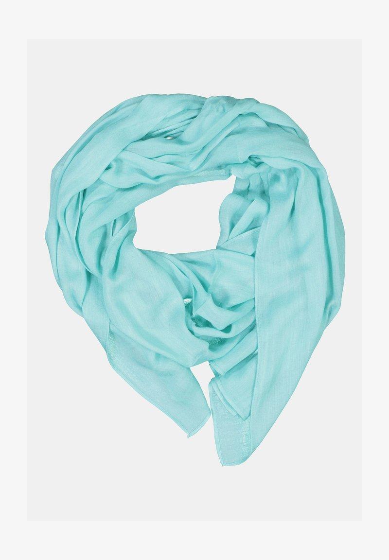 GINA LAURA - FRANSENKANTEN - Halsduk - turquoise