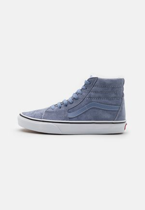 SK8 UNISEX - Høye joggesko - tempest blue/true white