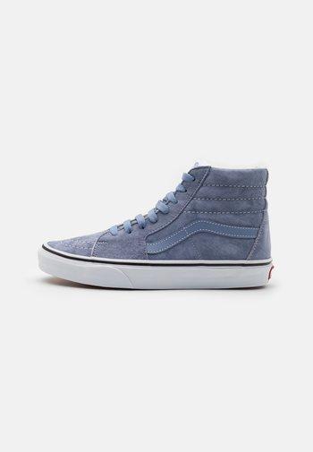 SK8-HI UNISEX - Baskets montantes - tempest blue/true white