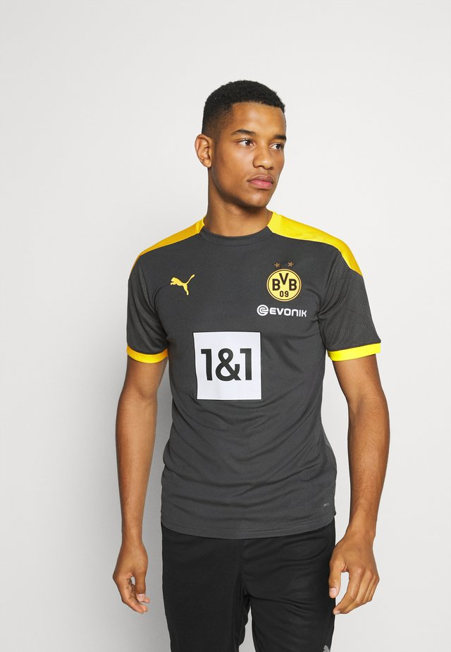 BVB BORUSSIA DORTMUND TRAINING - Club wear - asphalt/cyber yellow