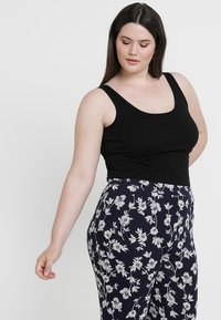 New Look Curves - NEW LONGLINE 2 PACK - Top - black/white - 3