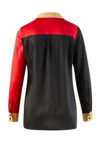 Alba Moda - Button-down blouse - schwarz,rot - 2