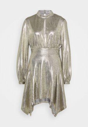 THE ERA MINI DRESS - Cocktail dress / Party dress - gold