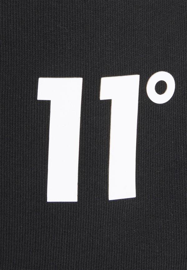 11 DEGREES TIE DYE SWEAT SHORTS - Szorty - black/czarny Odzież Męska USTS