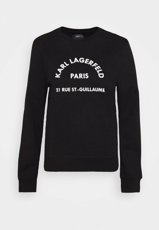 ADDRESS LOGO - Sweatshirts - black