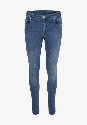 Slim fit jeans - medium blue vintage wash