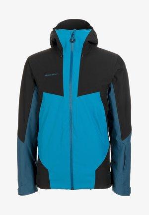 CASANNA - Snowboard jacket - sapphire/wing teal/black