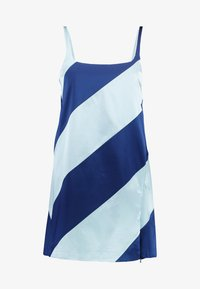 House of Holland - MUTED PANELLED SLIT DRESS - Day dress - blue/navy - 4