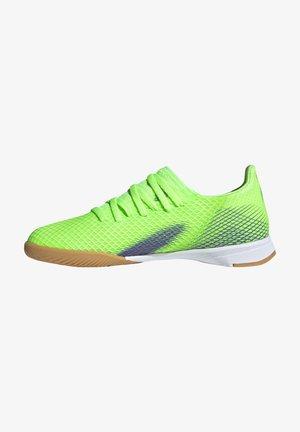 X GHOSTED.3 FOOTBALL SHOES INDOOR UNISEX - Futsal-kengät - siggnr/eneink/ftwwht
