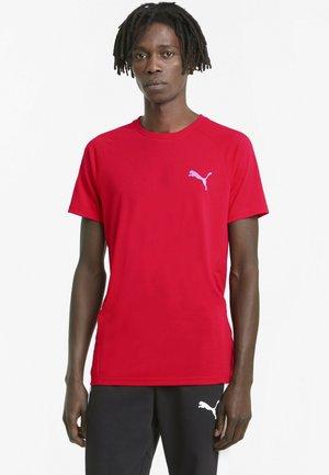 T-shirt basic - high risk red