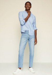 Mango - SLIM FIT  - Shirt - hemelsblauw - 1