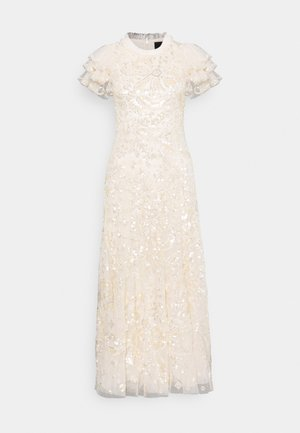 SHIRLEY RIBBON ANKLE LENGTH GOWN - Gallakjole - champagne