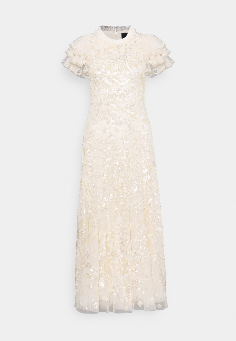 Needle & Thread - SHIRLEY RIBBON ANKLE LENGTH GOWN - Occasion wear - champagne