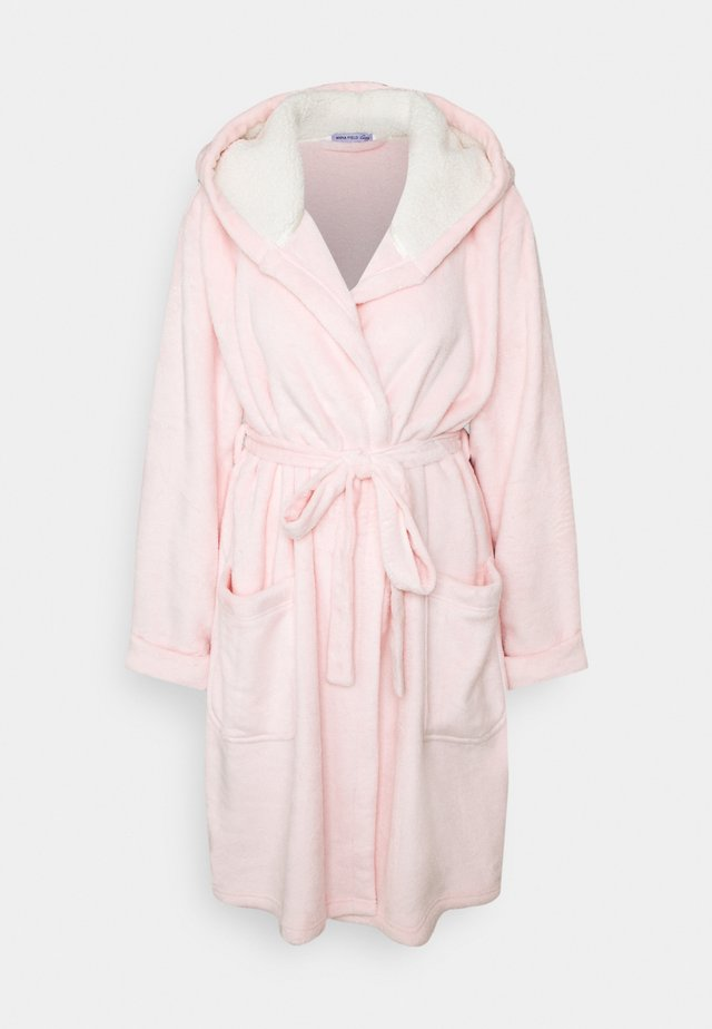 MAELIS PLUSH BATHROBE - Morgonrock - pink