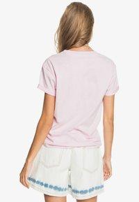 Roxy - Print T-shirt - pink mist - 2