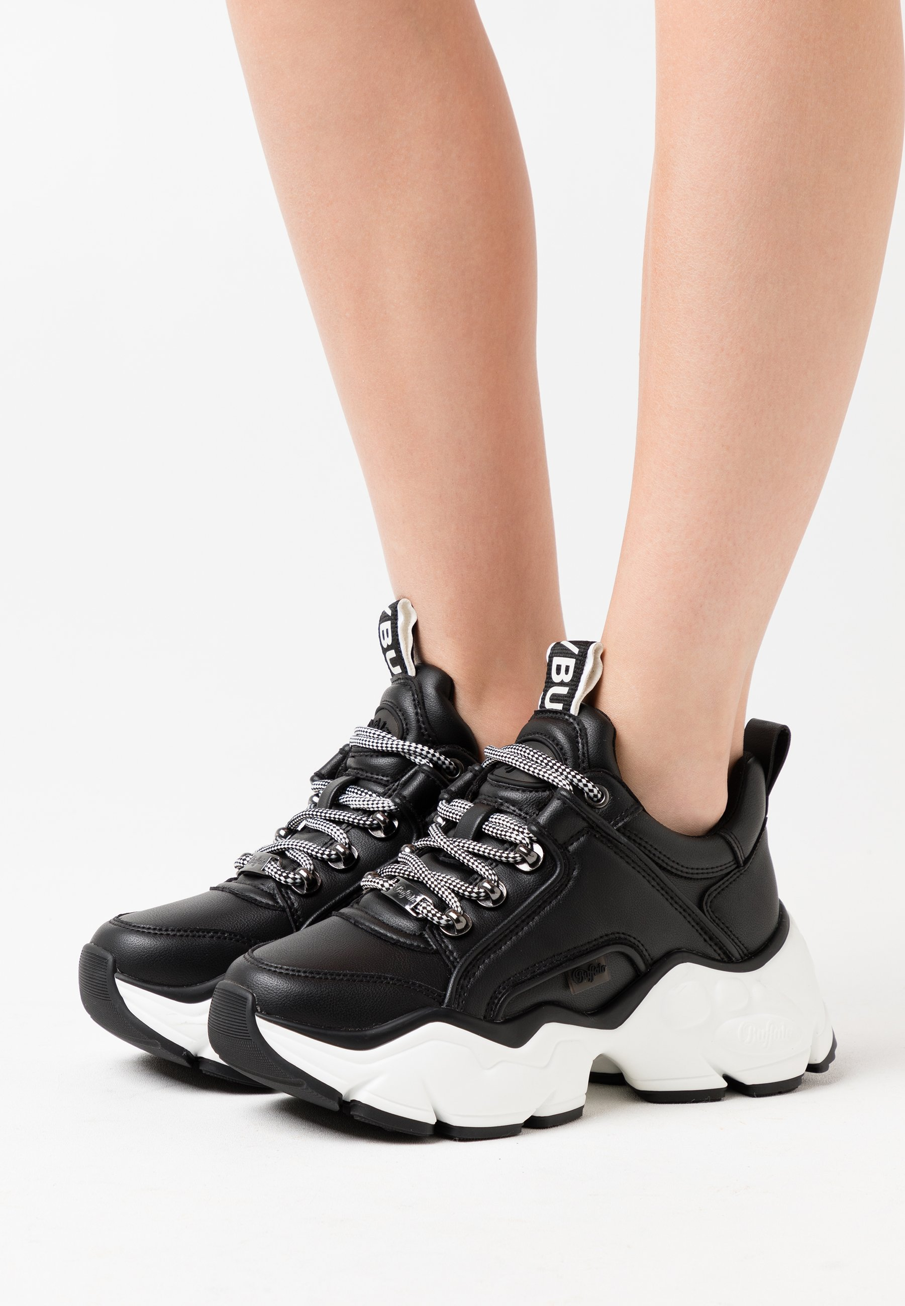 Nuovo stile Scarpe da Donna Buffalo BINARY CASH Sneakers basse black