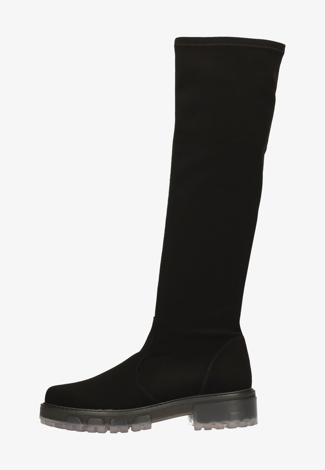 Platform boots - nero nk