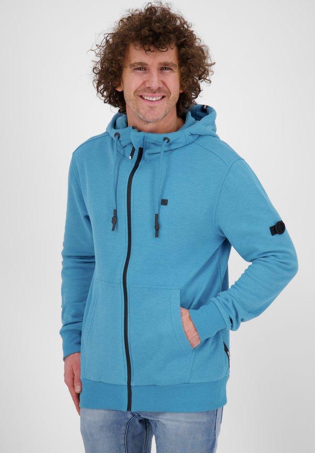 Zip-up hoodie - ocean