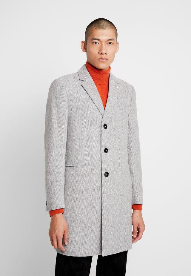 FAUX - Klasický kabát - light grey