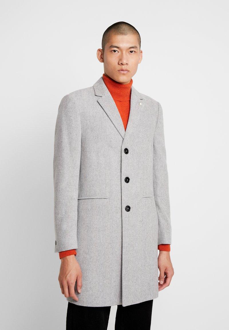 Burton Menswear London - FAUX - Kåpe / frakk - light grey