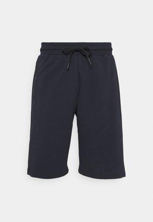 REGULAR FIT TERRY - Shorts - ink blu