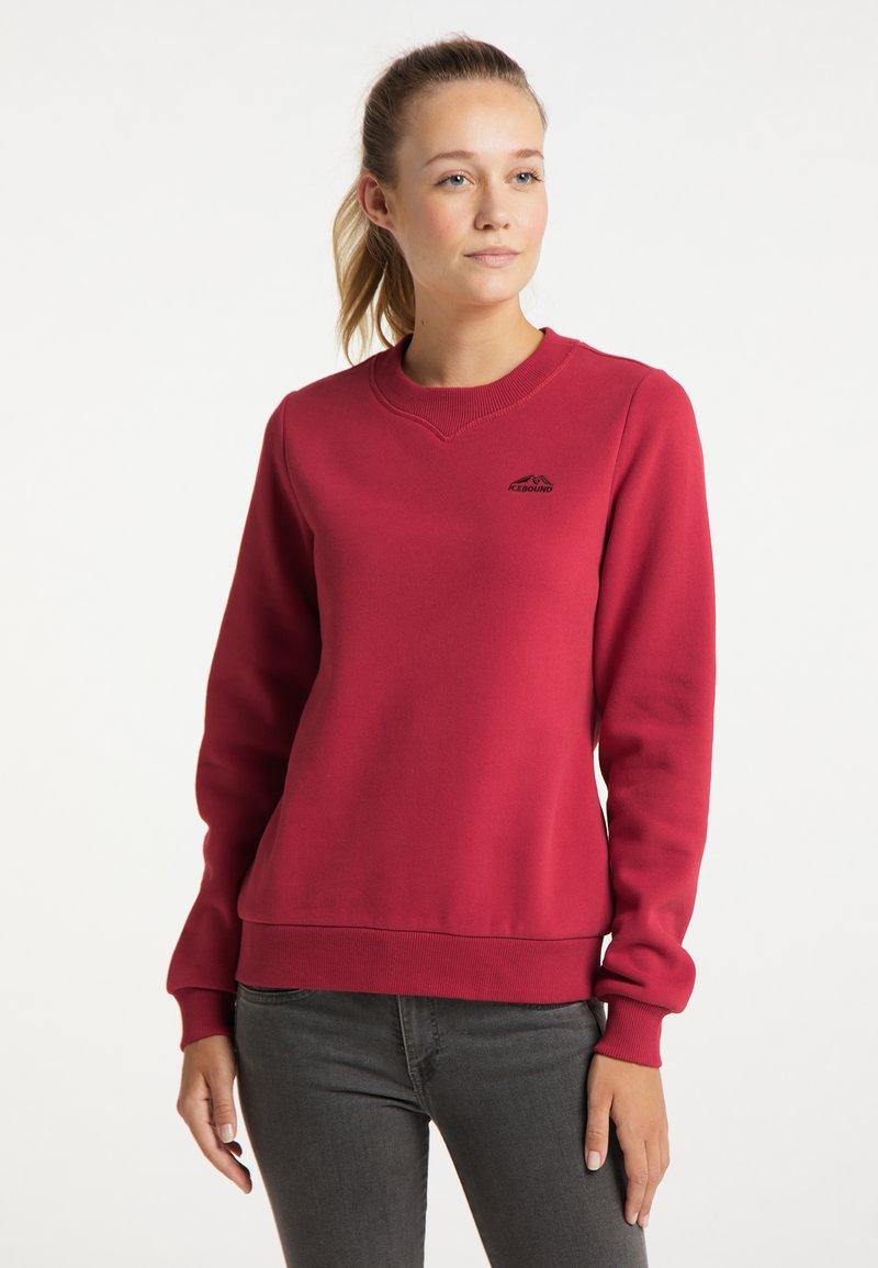 ICEBOUND - Sweatshirt - rot