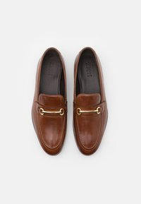 Zign - LEATHER - Smart slip-ons - brown - 3