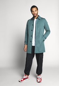 River Island - AIRFORCE CAR - Trenchcoat - blue - 1