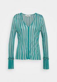 Diane von Furstenberg - SHIRLEY - Neule - placid blue/pale pink - 0