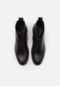 Bianco - LACE UP BOOT - Šněrovací kotníkové boty - black - 3