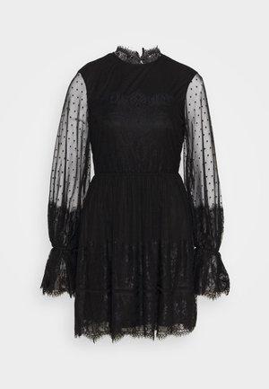 FRILL DRESS - Koktejlové šaty/ šaty na párty - black