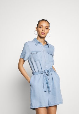 ONLMIRANDA PLAYSUIT  - Combinaison - light blue denim