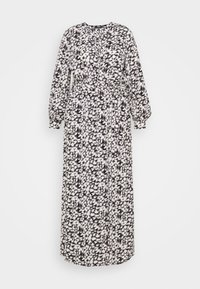 Missguided Plus - PLUNGE DRESS LEOPARD - Maxi dress - black - 0