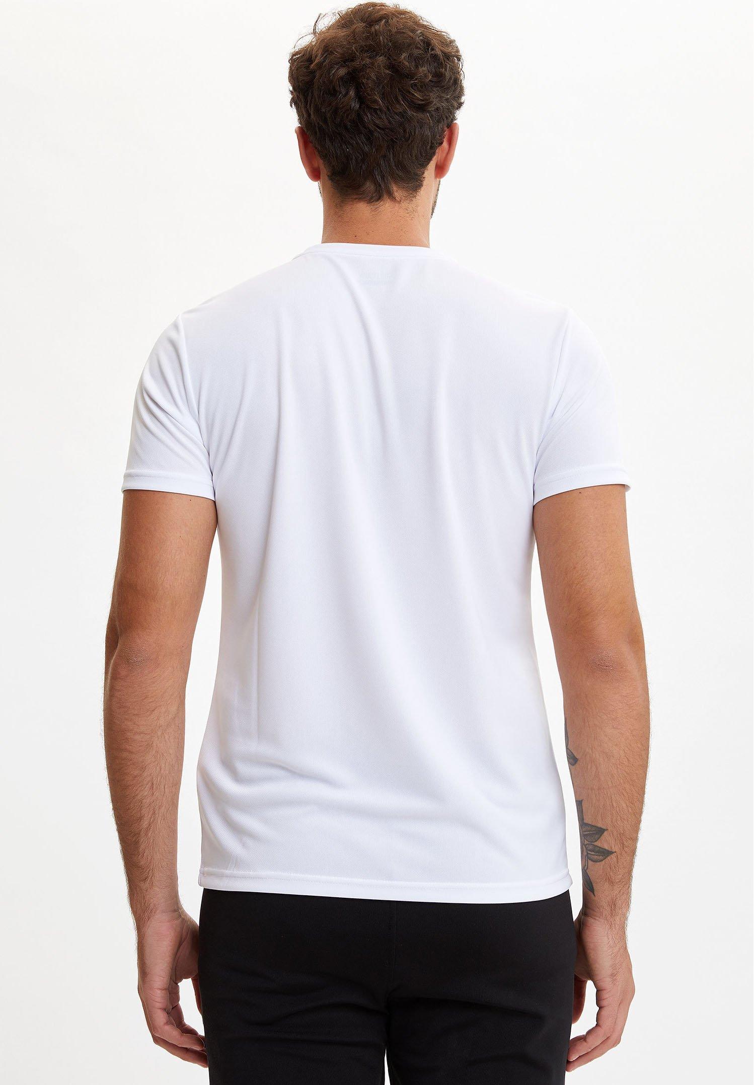 DeFacto Print T-shirt - white FIjO0
