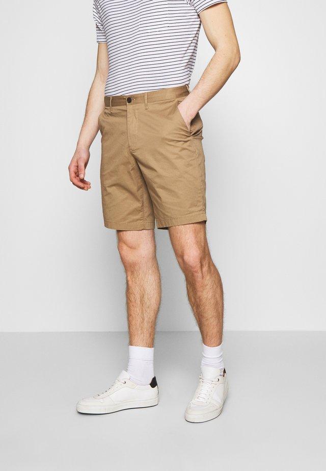 WASHED - Shorts - camel