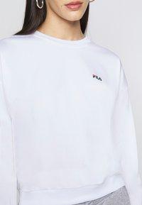 Fila Tall - TALLIS CREW - Long sleeved top - bright white - 5