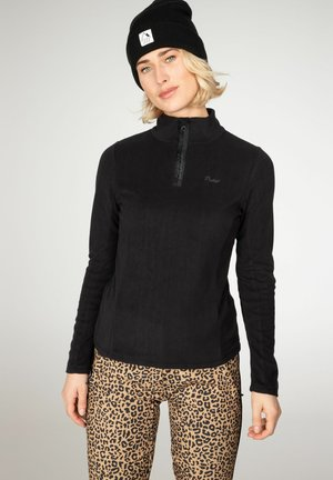 MUTEZ - Fleece jumper - true black