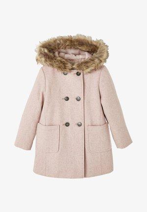 MÄDCHEN, DOPPELREIHIG - Winter coat - rosa