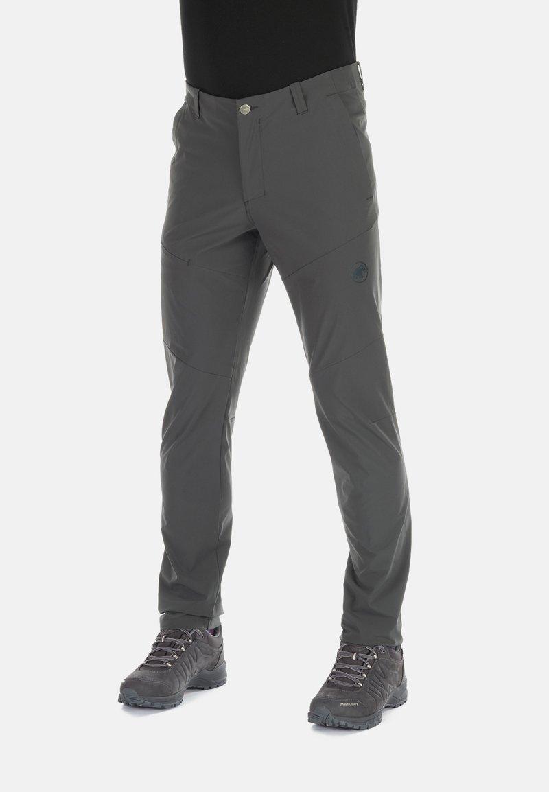 Mammut - RUNBOLD PANTS  - Trousers - dark grey